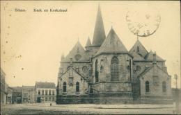 BELGIQUE BILZEN / Kerk En Kerkstraat / - Bilzen