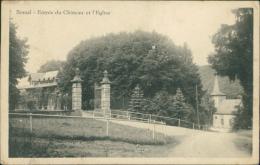 BELGIQUE BOMAL / Entrée Du Château Et L'Eglise / - Belgique