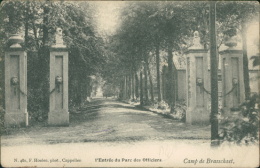BELGIQUE BRASSCHAET / L'entrée Du Parc Des Officiers / - Brasschaat