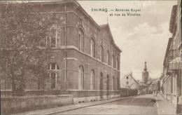 BELGIQUE CHIMAY / Athénée Royal Et Rue De Virelles / - Chimay