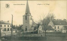 BELGIQUE COURT SAINT ETIENNE / L'Eglise et le Village /