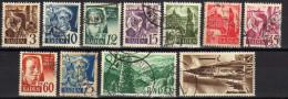 Baden 1947 Mi 2-6; 8-13, Gestempelt [201014III] - Zone Française