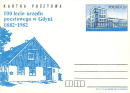 POLSKA -   GDYNI  -  Palazzo  Delle  Telecomunicazioni  -  OROLOGIO  Sulla  Torre - Orologeria