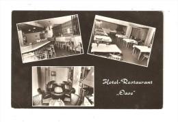 CPA : Genk : Hôtel Restaurant OASE-  Havenstraat - Multivues ( 3 )  - Bar - Restaurant - Salon  - PEU  COMMUNE - Genk