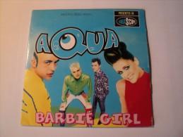 CD 2 TITRES AQUA. 1997. BARBIE GIRL. UNIVERSAL MUSIC ARTISTES CREDITES TELS S. RASTED / C. NORREEN - Music & Instruments