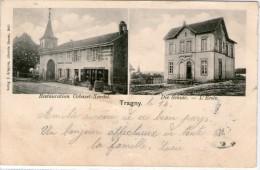 57 TRAGNY - Restauration  -  Ecole   -  E.GREGOIRE - Autres Communes