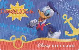 Carte Cadeau USA - DISNEY DISNEYLAND Orlando - DONALD DUCK - Gift Card - Geschenk Karte - 01 - Disney
