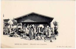 Cpa Tunisie - Souk El Arba - Marché Aux Légumes - Tunisie