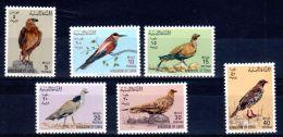 Libye, 1965  Uccelli - Birds - Vogel - Oiseaux, YT 255 - 260,  Neuif **, Lot 42372 - Oiseaux