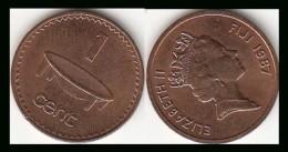 FIJI 1 Cent 1987 KM#49 - Used - Figi