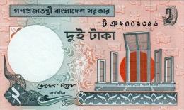 BANGLADESH 2 TAKA BANKNOTE 2010 PICK NO.6C UNCIRCULATED UNC - Bangladesh