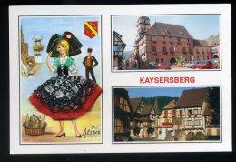 Kaysersberg - Multivue - Carte Avec Costume En Tissu - Kaysersberg