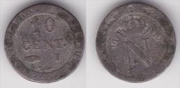 10 CENTIMES NAPOLEON 1er 1808 I En Billon TB  (voir Scan) - D. 10 Céntimos