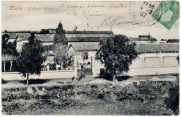 Cpa Tunisie - Tunis - L'Hôpital Militaire - Tunisie