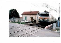 21 - BEIRE LE FORT - Le Passage à Niveau - SNCF - Frankreich