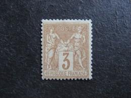 A). TB N° 86, Neuf  X . - 1876-1898 Sage (Tipo II)