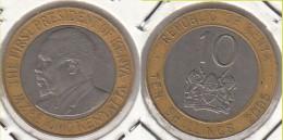 KENYA 10 Shillings 2005 KM#35.1 - Used - Kenia