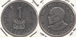 KENYA 1 Shilling 2005 KM#34 - Used - Kenia