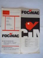 Pochette Photo Dia FOCINAC Antwerpen Brussel - Matériel & Accessoires