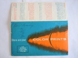 Pochette Photo Color Prints Use KODA COLOR FILM - Matériel & Accessoires