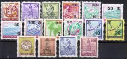 Yugoslavia,Definitive 1992.,complete,MNH - 1992-2003 Federal Republic Of Yugoslavia