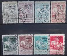 BELGIE  1911     Nr. 100 - 107     Gestempeld    CW  75,00 - 1910-1911 Caritas