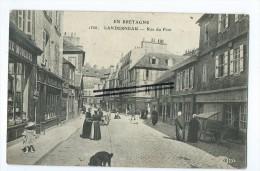 CPA- Landerneau - Rue Du Pont - Landerneau