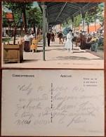 CP N° 194 - Auvergne - Allier - Vichy - Galeries Couvertes - Belle Animation - Colorisée - Vichy