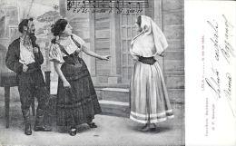 [DC5707] CARTOLINA - LA CAVALLERIA RUSTICANA - PIETRO MASCAGNI - CP - Viaggiata - Old Postcard - Opéra