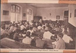 S0021-7 Postal - BOMBAY - St. Xavier's HIGH SCHOOL- CLASS ROOM - India