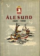 Livre - En Norvègien - Alesund 1848-1948 - Books, Magazines, Comics