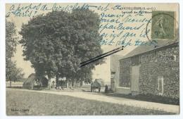 CPA-  Goupillières - La Croix Des Marronniers - France