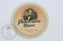 Vintage Advertising Beer Coaster Pschorr - Bräu Weisse  - Beer Mats - Sous-bocks