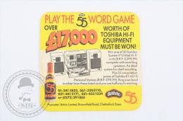 Vintage Advertising Beer Coaster Britvic 55 - Beer Mats - Sous-bocks