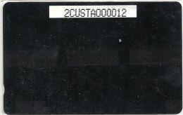 UK - GPT Customer White Test Card, 2CUSTA, Used - Royaume-Uni