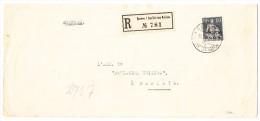 R-Brief 19.XI.23 Genève Société Des Nations Nach Dantzig Mit SDN (D III) Zu.#11 Ankunfts-Stempel - Service