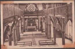 S0021-8 Postal - BOMBAY - St. Xavier's HIGH SCHOOL - CHAPEL GALLERY - India
