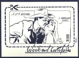 WEEK-END CARTOFOLIES - PARTHENAY 1986 - Bourses & Salons De Collections