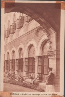S0021-9 Postal - BOMBAY - St. Xavier's College - FROM THE PORCH - India