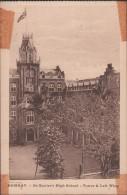 S0021-13 Postal - BOMBAY - St. Xavier's HAIG SCHOOL - TOWER & LEFT WIN - India