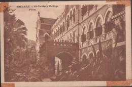 S0021-14 Postal - BOMBAY - St. Xavier's College - FRONT - India