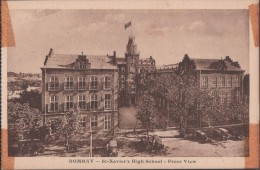 S0021-21 Postal - BOMBAY - St. Xavier's HAGH SCHOOL - FRONT VIEW - India