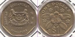 SINGAPORE 1 Dollar 1997 (downwards Ribbon) Km#103 - Used - Singapore