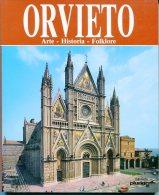 """ORVIETO:ARTE-HISTORIA-FLOKLORE"" AUTOR ROBERTO DONATI EDIT.PRORIGRAF AÑO 1995 PAG.100 NUEVO A TODO COLOR! HERMOSO! GECKO - Arts, Hobbies"