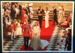 Marriage Of HRH Prince William Of Wales With Miss Catherine Middleton At Westminster Abbey 29th April 2011 - Familles Royales