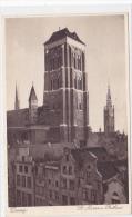 Poland - Danzig - St. Marien und Rathaus
