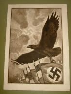 Gelaufenes Sw.-Propaganda-Telegramm Von Deutsches Reich - Allemagne