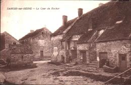 77 - SAMOIS Sur SEINE - La Cour Du Rocher - Samois