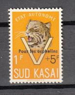 Zuid - Kasai : Ocb Nr :  20 A ** MNH  (zie  Scan) Pour Les Orphelins - South-Kasaï