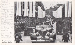 Militaria - Guerre 39-45 - Libération - Norvège Norway - Défilé Militaire Roi - Karl Johangst - War 1939-45